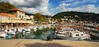 Small fishing boat harbour at the Port of Soller (Puckpics) Tags: soller majorca spain harbour port fishingport
