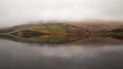 Tried to shoot some fog....but I mist! 😂 (G-WWBB) Tags: dovestonereservoir dovestone reservoir reflections reflect reflecting mountain fog mist cloud waterfront water greenfield oldham