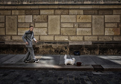 The Man And His Dog... (Gabi Wi) Tags: take a walk on the wild side