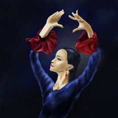 Flamenco (Pat McDonald) Tags: galapasiónatravésdelflamencoenlafundacióncajasol20 fundacióncajasol albaicin andalucía andalus argentina artrage bailaora bailar bale ballerina ballet ballo flamenco españa digitalart danse dance dans castanet gibraltar gitana guapa guapísima mediterranean lalíneadelaconcepción spain sevilla seville retrato