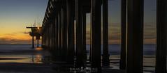 The Pier (ihikesandiego) Tags: scripps pier sunset la jolla san diego