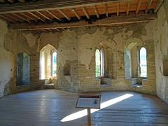 Inside Stokesay Castle -- photo 3 (Dunnock_D) Tags: uk unitedkingdom britain england shropshire stokesay castle inside interior room stone wooden floor