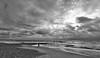 Southbourne - Bournemouth Beach (richnew7) Tags: beach sea sand bournemouth southbourne nikon d810 monochrome blackwhite black white sky waves water seaside pebbles pebble landscape people