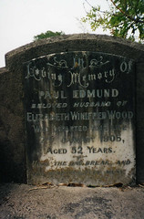 Headstone - Paul Edmund Wood