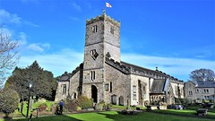 St Mary's Church - Kirby Lonsdale (Paul Thackray) Tags: cumbria westmorland kirbylonsdale stmaryschurch churchclock 2017