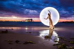 Kwinana Beach Light Painting- Lightning-3.jpg (picturesbysteve) Tags: sunset 24105f4 november2017 lightning kwinana canon6d 24105 sea ozlightjunkies 6d ©stephenhumpleby 2017 wa kwinanabeach perth longexposure westernaustralia model lightpainting beach canon lightening © stephen humpleby
