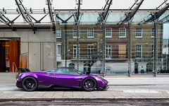 Purple. (Alex Penfold) Tags: pagani huayra bc purple supercars supercar super car cars autos alex penfold 2017 london knightsbridge arab arabic qatari