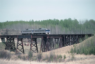 A Run By at Blueberry Creek, BC on May 25, 1992 -- 7 Photos