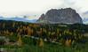 Sassolungo in autunno (AvventureInSella) Tags: dolomiti sassolungo autunno bosco larici montagna panorama tourdelledolomiti