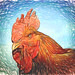 Rooster with Topaz art effects