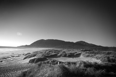 Manzanita (pete4ducks) Tags: summer 2017 blackandwhite oregon on1pics seascape nature landscape beach coastline mountain hills travel waves explore 500views manzanita