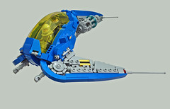 Blue Auk (Rogue Bantha) Tags: lego space ncs spaceship classic