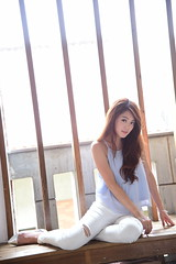 千又5037 (Mike (JPG直出~ 這就是我的忍道XD)) Tags: 千又 台北藝術大學 nikon d750 model beauty 外拍 portrait 2015 demi