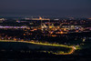 Night views over St Helens, from Billinge Hill, St Helens, Merseyside (ianbonnell) Tags: billingehill sthelens merseyside night nightscape