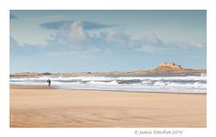 Lindisfarne Castle (JamieD888) Tags: lindisfarnecastle holyisle beach sea waves