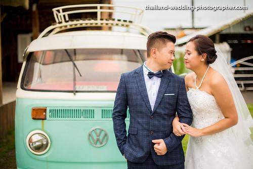 Swiss Sheep Farm Thailand Wedding Photography