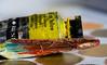 The Right Tone (PhilR1000) Tags: paint palletteknife mix yellow macromondays macro stonerhymingzone tone colourindex tube art artist