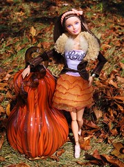 Happy Thanksgiving (flores272) Tags: skipper barbie barbiedoll outdoors pumpkin doll dolls toy toys