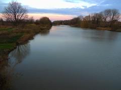 die Braake (Sophia-Fatima) Tags: brunsbüttel schleswigholstein deutschland braake river fluss blauestundebluehour