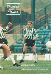 Plymouth Argyle vs Blackburn Rovers - 1991 - Page 21 (The Sky Strikers) Tags: plymouth argyle blackburn rovers barclays league division two home park programme one pound