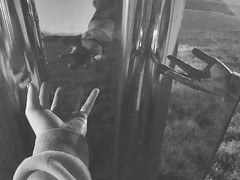 Theme:👌👐 HANDS TELLING STORIES 👍👏 (staceygallagher2) Tags: nightphotography night fingers finger illusion opticalillusion blackandwhite hand reflections hands
