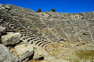SELGE (Sirk) Pisidia, Antalya/ Turkey. Roman Theatre
