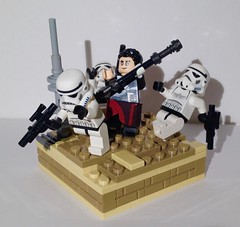 Rogue One Vignette (ColbyBricks) Tags: colby ostrin lego toy star wars rogue one vignette competition harrison hill 8x8 chirrut imwe stormtroopers