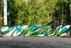 Rustle (SERGEY AKRAMOV) Tags: sergeyakramov сергейакрамов graffiti graffuturism postgraffiti art artwork fineart sprayart streetart abstraction mural paint painting contemporary contemporaryart
