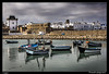 Puerto pesquero (Montse Estaca) Tags: marruecos morocco marocco maroc asilah puerto puertopesquero fishingboat fishingport port porto oceanoatlantico oceanoatlántico oceano ocean atlanticocean agua acqua water costa costiera shore color muralla wall mura casas buildings palazzi cielo sky boats barcos reflection reflejo riflesso