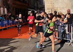 Marathon de La Rochelle, 26 novembre 2017, Mari IWAKURA, temps final 3h18 (thierry llansades) Tags: marathon larochelle 17 charente charentemaritime charentes charentesmaritime poitou couse running coureur coureuse aunis saintonge courses 42 kilometres 195 42195 mail record records footing