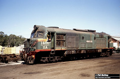2877 XA1406 Midland Workshops 14 March 1982 (RailWA) Tags: railwa philmelling westrail 1982 xa1406 midland workshops 14 march