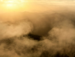..swirled into the vortex of life... (dawn.tranter) Tags: dawntranter mountains sunrise morning light sunshine sunrays nationalpark newenglandarmidale pointlookout armidale nsw outdoors nature naturelovers cloud mist swirl vortex life