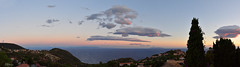 Viewing from Elba to Corsica
