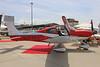 N477EU Cirrus SR-22T Cirrus Aircraft Geneva EBACE 23rd May 2017 (michael_hibbins) Tags: aviation ebace 2017 geneva switzerland airshow tradeshow cirrus sr22 american general private