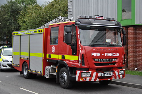 Devon & Somerset Fire & Rescue Service | Iveco Eurocargo | Light Rescue Pump | SG63 VWV
