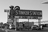 Stinkers (arbyreed) Tags: arbyreed gas gasstation sign gasstationsign petrol petrolstation stinker stinkergassign skunk rupertidaho
