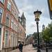 Bicyclist & Street Lamp - Utrecht, Netherlands