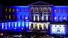 Presidential Palace ready for the 100th Independence Day party (Helsinki, 20171206) (RainoL) Tags: blue building finland helsingfors helsinki night nyland palace presidentensslott presidentialpalace presidentinlinna suomi100 urban uusimaa fin 2017 201712 20171206 december winter independenceday centennial