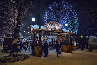 Christmas market in Oslo