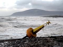 High but not dry ! (billnbenj) Tags: barrow cumbria walneyisland earnsebay waves 10metretide hightide markerbuoy