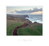 """Rugged"" - Kynance, Cornwall (Joe Rainbow) Tags: landscape film portra400 mamiyarz67proii path cornwall coast fields sea seascape atlantic headland lizard rugged"