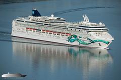 Norwegian Jade [Explore #22] (Aviation & Maritime) Tags: norwegianjade ncl norwegiancruiseline cruiseship cruise bergen norway