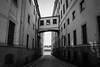 Connected (Fredrik Lindedal) Tags: sthlm stockholm oldtown sweden sverige bnw city oldcity visitsweden blackandwhite houses boat cityscape cityview street streetview lindedal fredriklindedal