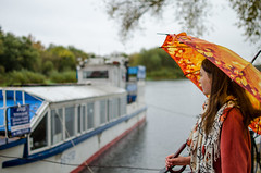 Daria Gladchenkova (ivan_volchek) Tags: people travel traveling visiting outdoors water city street river tourism tourist landscape sky traditional rain daylight nature architecture autumn bryansk desnariver desna