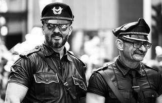 Pride parade police