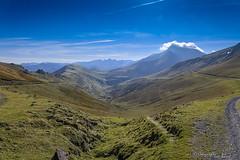 Du côté d'Iraty_5780 (lucbarre) Tags: iraty pays basque france larrau montagnes brume nuages sky shadows blue bleu ciel french pyrénées