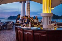 Untitled (Chang Tai Jyun) Tags: vietnam hanoi halongbay ocean sea bay nightlife night nightview bar ship