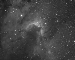 2017_08_31 - Cave Nebula (HA Stack) (STF) (irg.astronomy) Tags: deepspace narrowband astrophotography astronomy atik universe space monochrome skywatcher nightsky