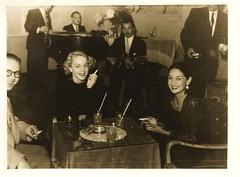Pall Mall Club (STUDIOZ7) Tags: 1950s fifties 50s bar nightclub jazz music smoking smoker cigarette table band latin pack drinks cocktails liquor alcohol women man