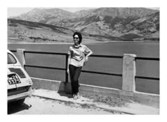 Campotosto 1961 (11) (dindolina) Tags: photo fotografia blackandwhite bw biancoenero monochrome monocromo lago lake campotosto abruzzo family famiglia history storia marialaviniabovelli 1961 1960 sixties annisessanta vintage car automobili cinquecento vacanze vacation summer estate